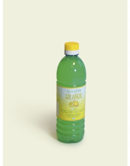 JUGO DE LIMON 500ML, pack x 18u